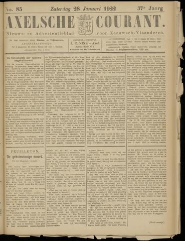 Axelsche Courant 1922-01-28