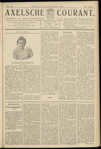 Axelsche Courant 1934-08-31