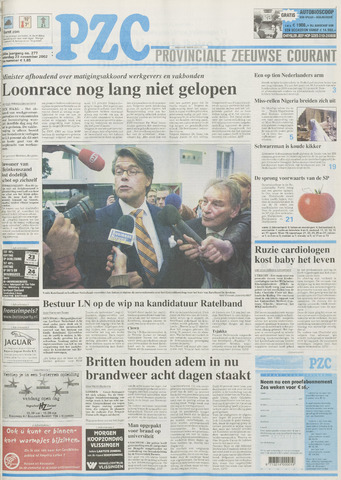 Provinciale Zeeuwse Courant 2002-11-23