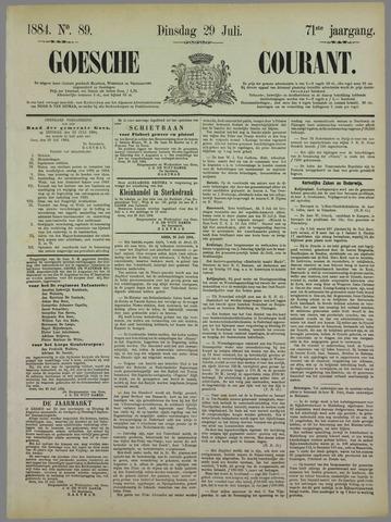 Goessche Courant 1884-07-29