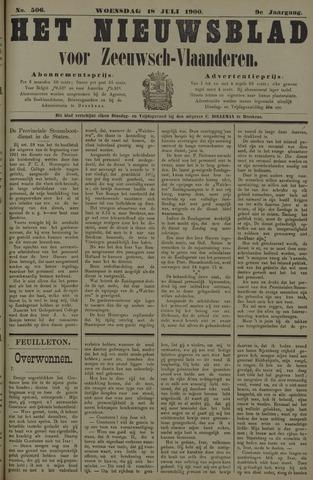 Nieuwsblad voor Zeeuwsch-Vlaanderen 1900-07-18