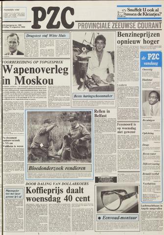 Provinciale Zeeuwse Courant 1986-08-12