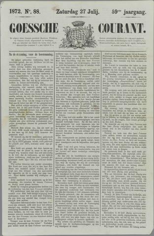 Goessche Courant 1872-07-27