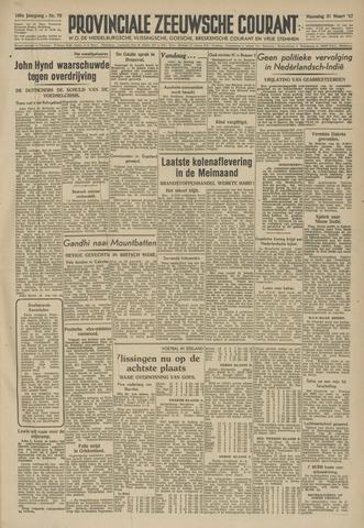 Provinciale Zeeuwse Courant 1947-03-31