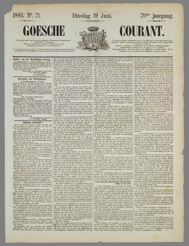 Goessche Courant 1883-06-19