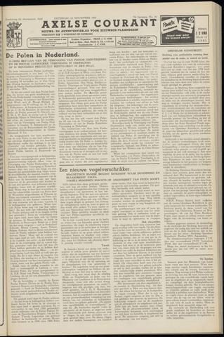 Axelsche Courant 1957-11-23