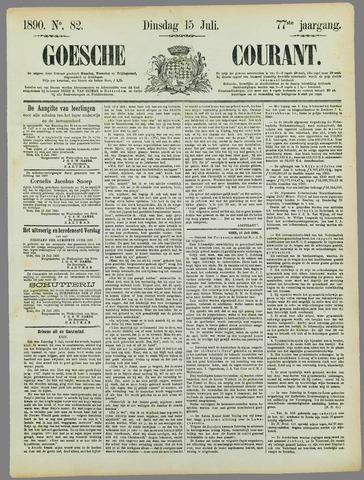 Goessche Courant 1890-07-15