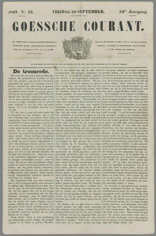 Goessche Courant 1867-09-20