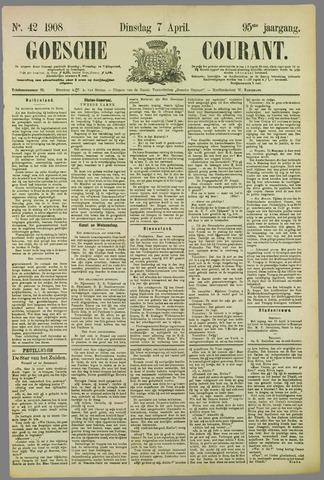 Goessche Courant 1908-04-07