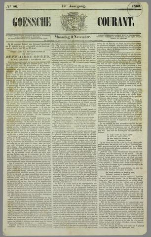 Goessche Courant 1862-11-03