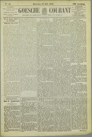 Goessche Courant 1919-07-12
