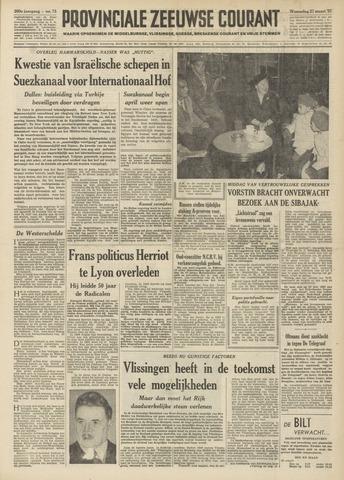 Provinciale Zeeuwse Courant 1957-03-27