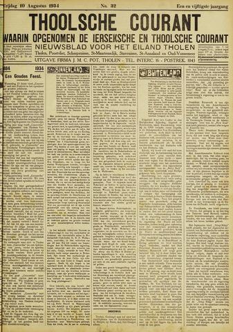Ierseksche en Thoolsche Courant 1934-08-10
