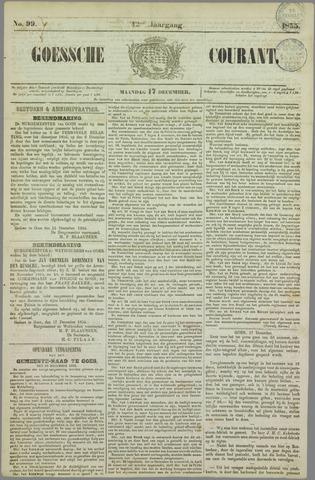 Goessche Courant 1855-12-17