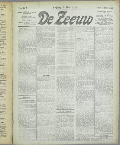 De Zeeuw. Christelijk-historisch nieuwsblad voor Zeeland 1919-05-02