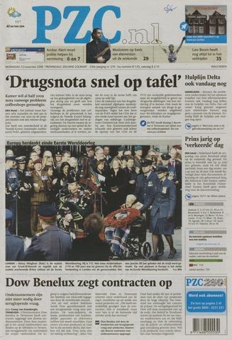 Provinciale Zeeuwse Courant 2008-11-12