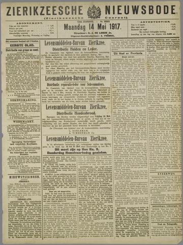 Zierikzeesche Nieuwsbode 1917-05-14