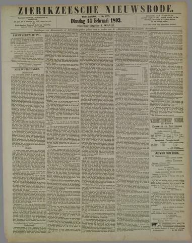 Zierikzeesche Nieuwsbode 1893-02-14