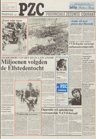 Provinciale Zeeuwse Courant 1986-02-27