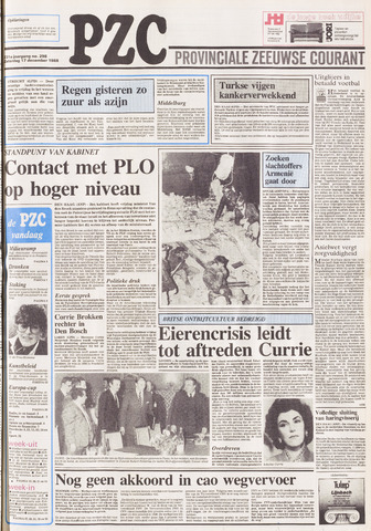 Provinciale Zeeuwse Courant 1988-12-17