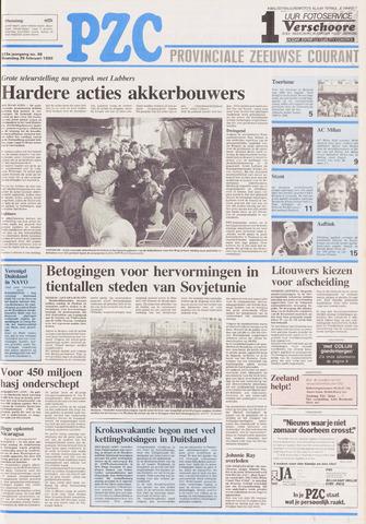 Provinciale Zeeuwse Courant 1990-02-26