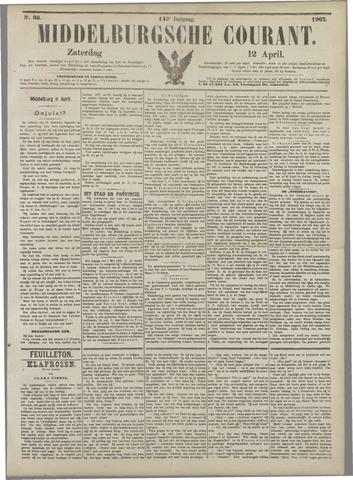 Middelburgsche Courant 1902-04-12