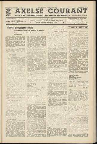 Axelsche Courant 1962-09-29
