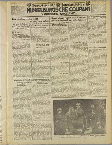 Middelburgsche Courant 1939-11-02