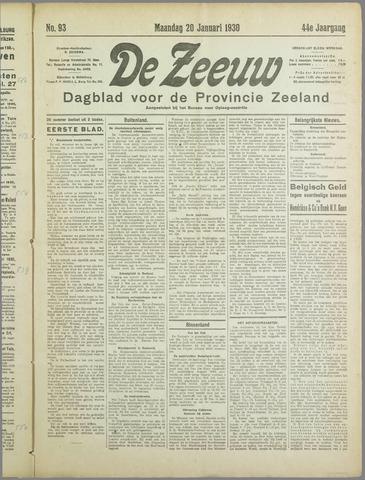 De Zeeuw. Christelijk-historisch nieuwsblad voor Zeeland 1930-01-20