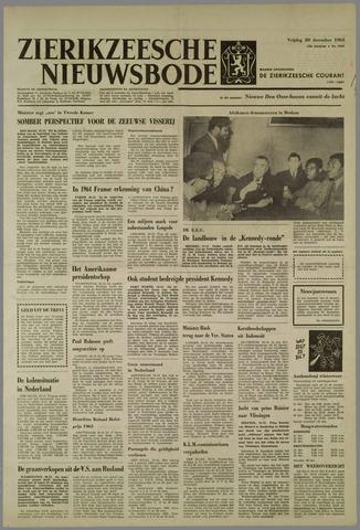 Zierikzeesche Nieuwsbode 1963-12-20