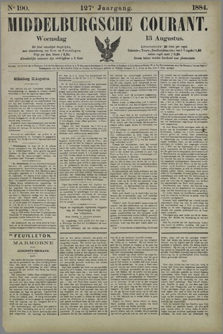 Middelburgsche Courant 1884-08-13