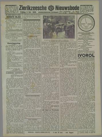 Zierikzeesche Nieuwsbode 1934-10-05