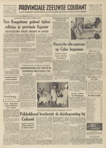 Provinciale Zeeuwse Courant 1960-07-05
