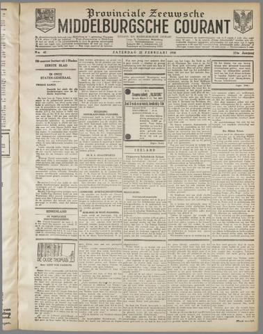 Middelburgsche Courant 1930-02-22