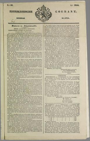 Zierikzeesche Courant 1844-04-23