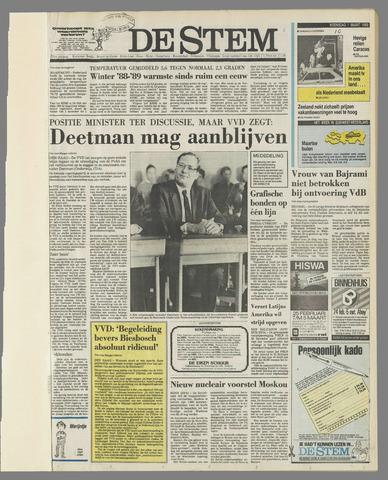 de Stem 1989-03-01