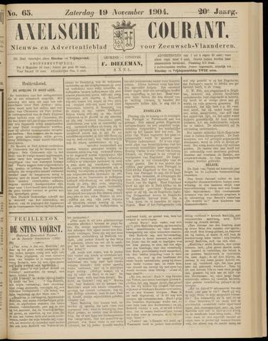 Axelsche Courant 1904-11-19