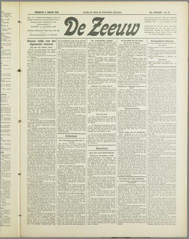 De Zeeuw. Christelijk-historisch nieuwsblad voor Zeeland 1935