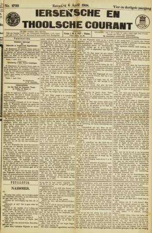 Ierseksche en Thoolsche Courant 1918-04-06