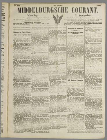 Middelburgsche Courant 1905-09-11