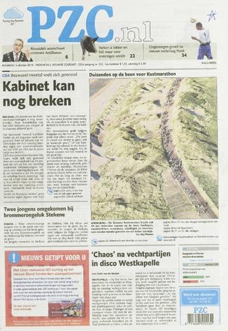 Provinciale Zeeuwse Courant 2010-10-04