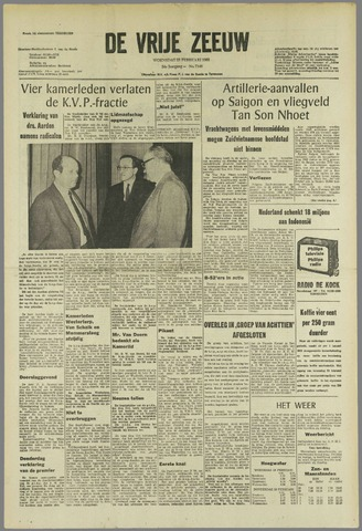 de Vrije Zeeuw 1968-02-28
