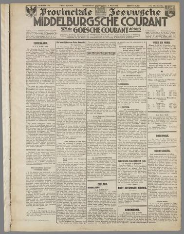 Middelburgsche Courant 1934-07-05