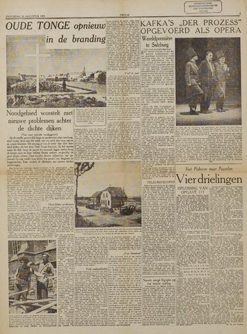 Watersnood documentatie 1953 - kranten 1953-08-22