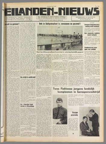 Eilanden-nieuws. Christelijk streekblad op gereformeerde grondslag 1967-06-06