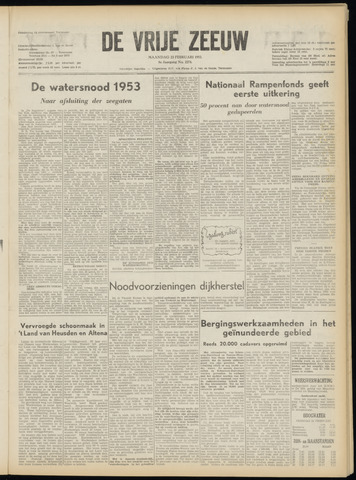 de Vrije Zeeuw 1953-02-23