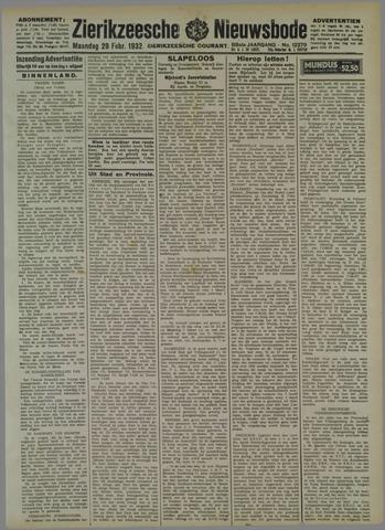 Zierikzeesche Nieuwsbode 1932-02-29
