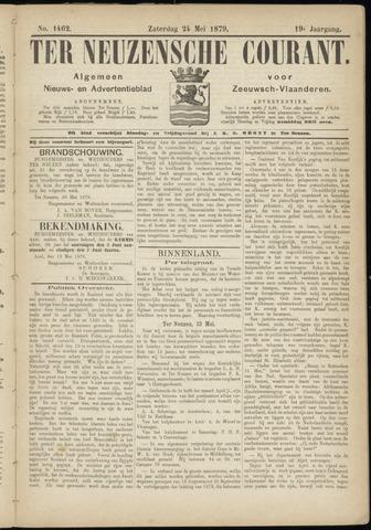 Ter Neuzensche Courant. Algemeen Nieuws- en Advertentieblad voor Zeeuwsch-Vlaanderen / Neuzensche Courant ... (idem) / (Algemeen) nieuws en advertentieblad voor Zeeuwsch-Vlaanderen 1879-05-24