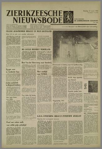 Zierikzeesche Nieuwsbode 1963-03-11