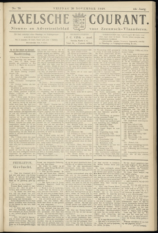 Axelsche Courant 1928-11-30